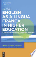 English as a Lingua Franca in Higher Education