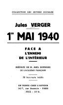 1er mai 1940