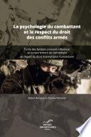 illustration du livre La psychologie du combattant