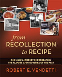 Book From Recollection to Recipe
