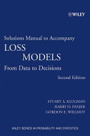 Loss Models  Solutions Manual