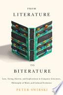 Ebook From Literature to Biterature Epub Peter Swirski Apps Read Mobile
