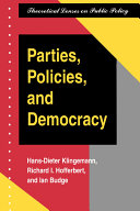 Parties  policies  and democracy