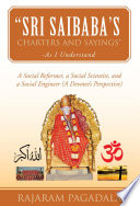 Sri Saibaba   s Charters and Sayings     As I Understand