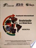 Seminario International  Revalorizaci  n de los grupos prioritarios en el medio rural  memoria