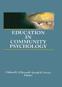 Education in Community Psychology