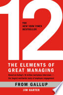 12 -- The Elements of Great Managing
