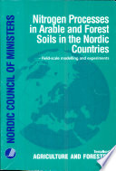 Nitrogen Processes in Arable and Forest Soils in the Nordic Countries