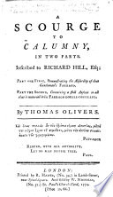 A Scourge To Calumny