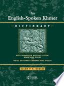 English Spoken Khmer Dictionary