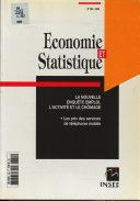E & S. Économie et statistique