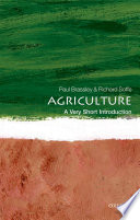 Agriculture  A Very Short Introduction