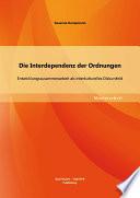Die Interdependenz der Ordnungen: Entwicklungszusammenarbeit als interkulturelles Diskursfeld