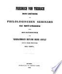 Ueber die dianoetischen Tugenden in der Nikomachischen Ethik des Aristoteles