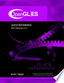 OpenGL ES 3 1 Quick Reference