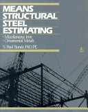 Means Structural Steel Estimating