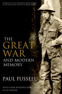 cover img of The Great War and Modern Memory
