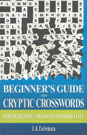 Beginner s Guide to Cryptic Crosswords