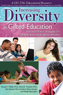 Increasing Diversity in Gifted Education