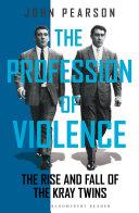 download ebook the profession of violence pdf epub