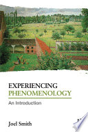 Experiencing Phenomenology