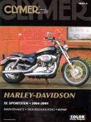 Clymer Harley Davidson XL Sportster  2004 2009