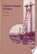 Economic Evaluation Of Projects : ...