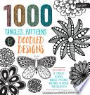 1 000 Tangles  Patterns   Doodled Designs