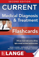 Current Medical Diagnosis And Treatment Flashcards 2e