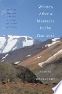 Written After a Massacre in the Year 2018 Book PDF