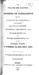 download ebook the poll ... july, 1837 pdf epub