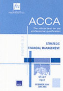 Acca Study Text: Strategic Financial Management Paper 3.7