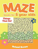 Maze Books for 5 Year Olds
