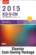 2015 Icd 9 Cm For Hospitals Volumes 1 2 3 Standard Edition And Ama 2015 Cpt Standard Edition Package