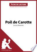 Poil de carotte de Jules Renard  Fiche de lecture