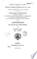Minist  re de l agriculture et du commerce  Exposition universelle internationale de 1878     Paris  Congr  s et conf  rences du Palais du Trocad  ro