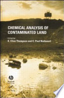 Chemical Analysis Of Contaminated Land book