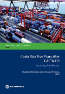 Costa Rica Five Years after CAFTA-DR Book