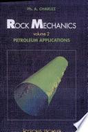 Rock Mechanics  Petroleum applications