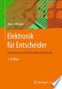 Elektronik f  r Entscheider