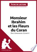 illustration Monsieur Ibrahim et les Fleurs du Coran d'Éric-Emmanuel Schmitt (Fiche de lecture)