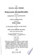 The Plays and Poems of William Speakspear