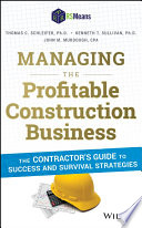 Managing the Profitable Construction Business