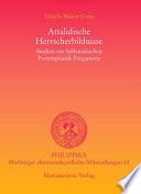 Attalidische Herrscherbildnisse