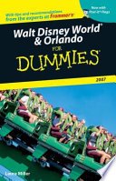 Walt Disney World   Orlando For Dummies 2007