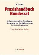 Praxishandbuch Bundesrat