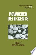 Powdered Detergents