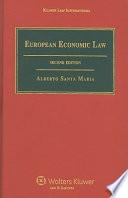 European Economic Law book