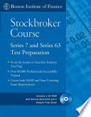 The Boston Institute of Finance Stockbroker Course