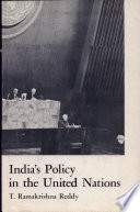 India s Policy in the United Nations